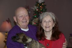 Mom and Dad are so much fun to be around. They laugh a lot. This was take during Christmas 2011.