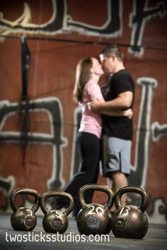 Crossfit engagement pictures