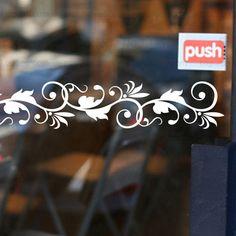 Aliexpress.com: Comprar 2016 nueva Diy 6 unids/lote Shop puerta etiqueta de la ventana escaparate cintura línea de la esquina parachoques pegatinas de la cocina del gabinete espejo Laciness de de la puerta confiables proveedores de MeleStore Wall Sticker.