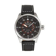 Citizen Watch - Men's Eco-Drive Leather $146.25