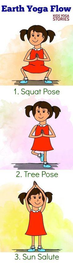 Earth Yoga Flow Practice For Kids Kids Yoga Stories - erde yoga flow praxis für kinder kids yoga stories Earth Yoga Flow Practice For Kids Kids Yoga Stories - breakfast recipes Filipino; Bikram Yoga, My Yoga, Yoga Flow, Yoga Meditation, Kids Yoga Poses, Yoga For Kids, Exercise For Kids, Earth Day Activities, Toddler Activities
