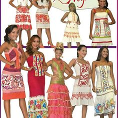 #VestidosEstilizados para celebrar nuestro mes de la patria bien trajiadas. #modaFemeninaPty  #ModaEnPanama  #fashionPanama  #fashionblogger  #panamá