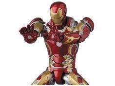 ToyzMag.com » Mafex Iron Man Mark XLIII : images et date de sortie