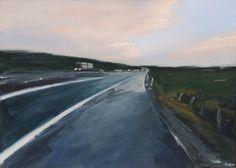 Anders Kjær motorvei Country Roads, Art, Kunst, Art Background, Performing Arts, Art Education Resources, Artworks