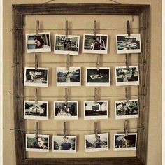 33 best creative ways to hang pictures images on pinterest wall art creativity and diy ideas. Black Bedroom Furniture Sets. Home Design Ideas