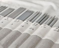 double pointed knitting needle storage - Google Search