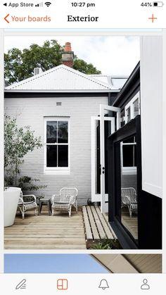 House Paint Exterior, Exterior Paint Colors, Exterior House Colors, Paint Colors For Home, Exterior Design, Paint Colours, Grey Exterior, Exterior Shutters, Exterior Homes