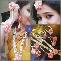 Jewellery Diy, Tassel Jewelry, Flower Jewelry, Jewellery Making, Jewelery, Silk Thread Necklace, Beaded Necklace, Gota Patti Jewellery, Ganesh Chaturthi Decoration