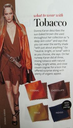 Instyle Color Crash Course - Tobacco