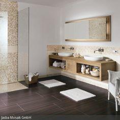 Immer öfter werden Fliesen in Holzoptik im Badezimmer eingesetzt: Sie bringen ein natürliches Ambiente ins Bad, während sie gegenüber der Feuchtigkeit besonders …
