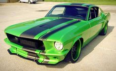 1967 Ford Mustang Restomod Looks Venomous