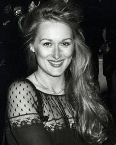 She's still beautiful, but how gorgeous was Meryl Streep when she was young?