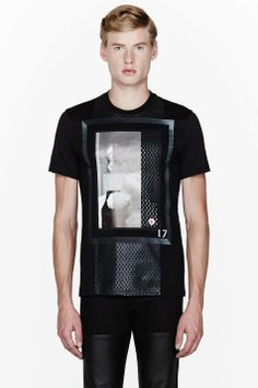 GIVENCHY Black Two Romans t-shirt