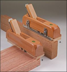 Moving Fillister and Dovetail Planes - Woodworking