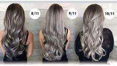 Ash Blonde Hair, Balayage Hair Blonde, Brunette Hair, Haircolor, Long Silver Hair, Hair Color Formulas, Latest Hair Color, Hair Color Techniques, Hair Shades