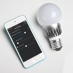 Smartphone Controlled Lightbulb - - Now do not get disturbed from your favourite movie show or other activities when you have to ON / OFF the bulb in your room. Do it from the comfort of your sofa / bed with this Smartphone Controlled Lightbulb. It is easy to install and works on Direct Bluetooth control - No Wi-Fi, routers, gateways or internet connection needed.