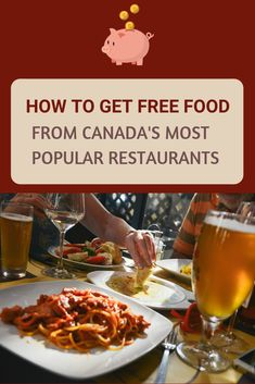 Who says there's no such thing as a free lunch? Find out how you can get free food from the most popular Canadian restaurant chains! Stuff For Free, Top Restaurants, Fine Dining, Free Food, Chains, Canada, Lunch, Beef, Popular
