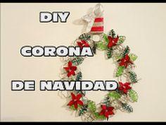 DIY CORONA DE NAVIDAD CON LUCES SIN CABLES, DIY CHRISTMAS WREATH WIRELESS
