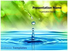 Be effective with your PowerPoint presentations by simply putting your content in our Drop PowerPoint design template.