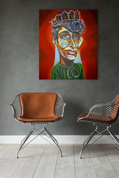 Queen of Jazz Original Painting • FREE SHIPPING