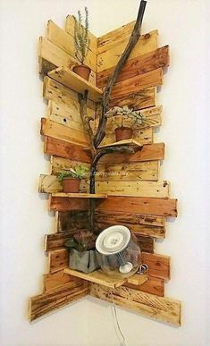 Fancy Wooden Pallets Corner Shelf Ideas Fancy Wooden Pallets Corner Shelf Ideas The post Fancy Wooden Pallets Corner Shelf Ideas appeared first on Pallet Diy. Recycled Pallets, Wooden Pallets, Wooden Diy, Pallet Wood, Corner Shelf Design, Corner Shelves, Rustic Corner Shelf, Corner Wall Decor, Room Corner