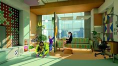 Creating child-friendly healthcare spaces: Five goals for success - Children often accompany parents or grandparents in medical settings; what can we do to address their unique needs? | Building Design + Construction