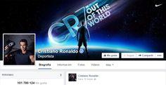 CR7 y sus mas de 100 millones de seguidores en Facebook