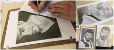 Portré rajzolás - a tökéletes portré 9 titkos trükkje - Művészház Photoshop Hair, Hair Sketch, Tattoo, Art, Art Background, Kunst, Tattoos, Performing Arts, Tattos