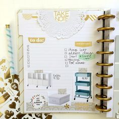 using The Happy Planner™ Notes & Graph Paper Expansion Pack for home remodel organization by mambi Design Team member Jen Randall   me & my BIG dieas