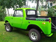 ▒ lime ▒ international scout 800 ▒