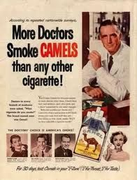 Camels......more docs smoked them!  lol