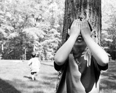 """Mattie likes to take care of people, especially immigrants. This picture shows children playing hide and seek. In a way, she helps the immigrants """"hide"""" from the law or the police. My Childhood Memories, Great Memories, Childhood Games, Summer Memories, 90s Childhood, Ideas Conmemorativas, The Good Old Days, Those Were The Days, No Time For Me"""