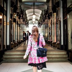 We love seeing women carrying our camera bags. This is a gorgeous shot taken in London on Jermyn Street.