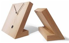Tothora Tact 25 Rustic Table Clock - contemporary - Desk And Mantel Clocks - Modo Bath