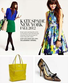 kate spade new yorkk fall 2012