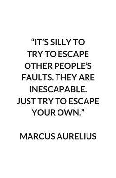 MARCUS AURELIUS Stoic Philosophy Quote