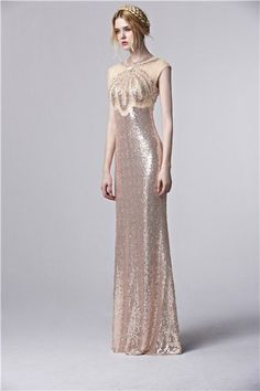 Inmansa designer beaded prom dresses long sparkly luxurious prom gowns