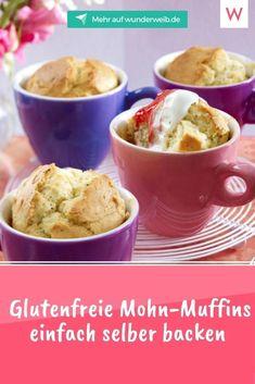 Du oder einer deiner Lieben verträgt kein Gluten und eine gebackene süße Überraschung scheint unmöglich? Nicht bei uns! Egal ob mit glutenfreiem Mehl, mit Mandeln oder Quark – unsere Rezepte für glutenfreie Muffins sind ganz einfach nachgebacken und das Ergebnis ist unglaublich lecker. #glutenfrei #muffins #rezept Tricks, Gluten Free Muffins