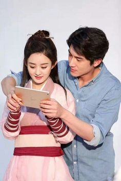 zhao li ying and lin gengxin princess agents. these cuties