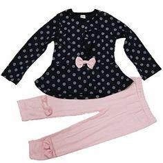 $12.41 - $13.21 | ASHERANGEL Baby Girl Cute 2pcs Set Children Clothes Suit Top and Pants | #shop #girls #clothes #set