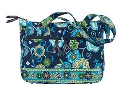 Bella Taylor Blue Tropic Everyday Quilted Handbag