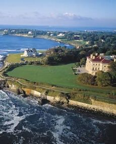 Newport, RI. Stunning sea and mansion views!  A great place to stop on your way from Providence to Boston.