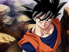 This is Son Goku, also known as Kakarot.. a bit stupid, but really strong.. he also addicted in fighting.. anime Dragon Ball