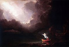 The Voyage of Life: Old Age by Thomas Cole