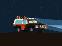 Off-Road by BERG #Design Popular #Dribbble #shots