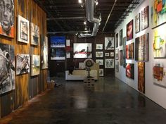 Galerie d'art Factory, Quebec City: This is a great gallery located in the heart of Quebec city. It is artist owned so you talk directly with them and it is not rare to see one perform live just before your eyes.