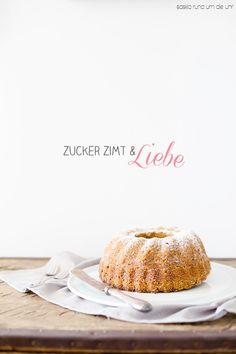 SaskiarundumdieUhr: Apfel - Möhren Kuchen {Zucker Zimt und Liebe} 100 Knutschis ❤️❤️❤️❤️❤️❤️