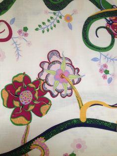 Fantastic piece of designer fabric. Scandinavian by Inspiria, $14.15