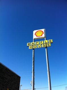 Gas and waffles. Yum.