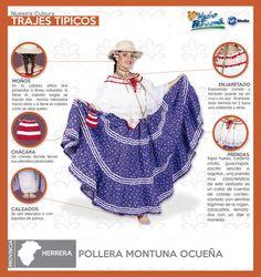 Pollera Montuna Ocueña